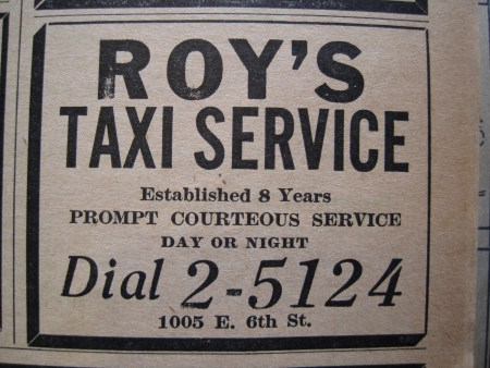 Image result for roy's taxi austin