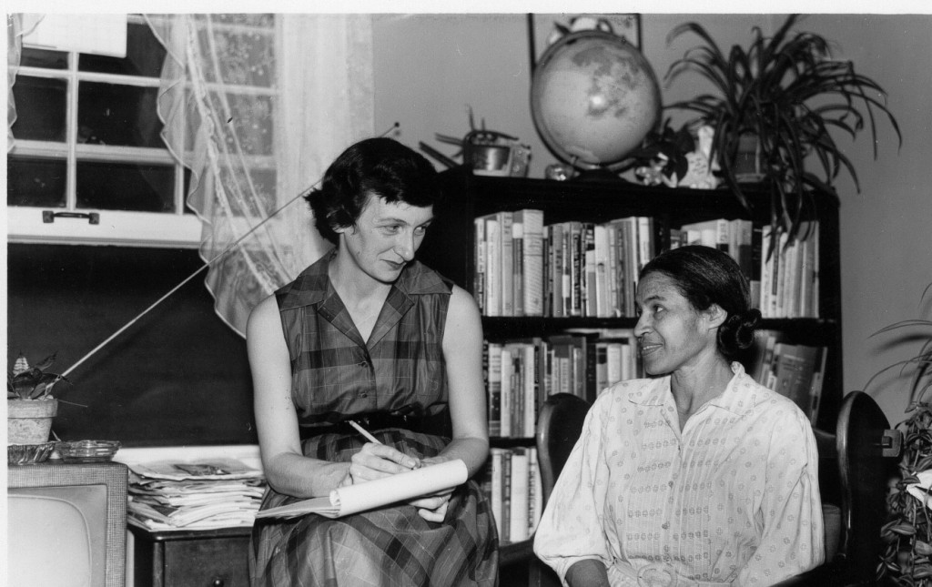 Anne Braden and Rosa Parks