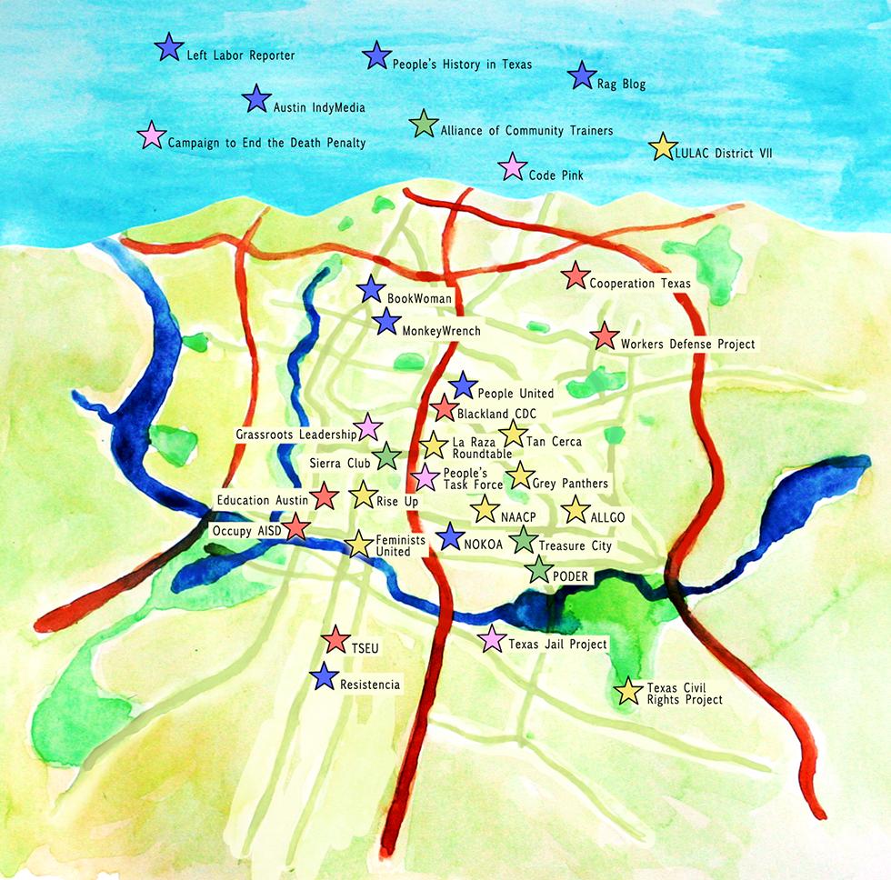 Organizations Map